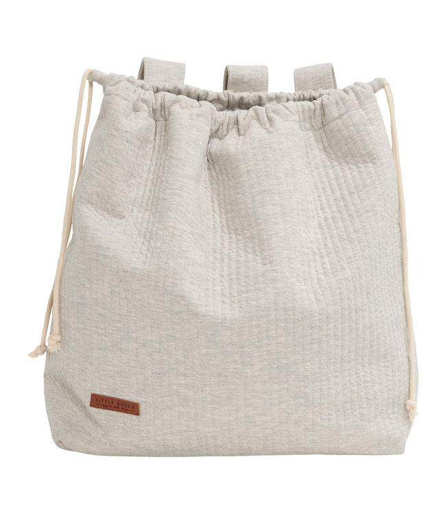 Little Dutch Pure Gray storage bag