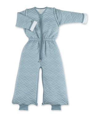 Bemini 9-24 months sleeping bag mineral blue Quilted tog 1.5