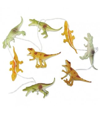 House of Disaster Dinosaurus Bright String Lights Natural