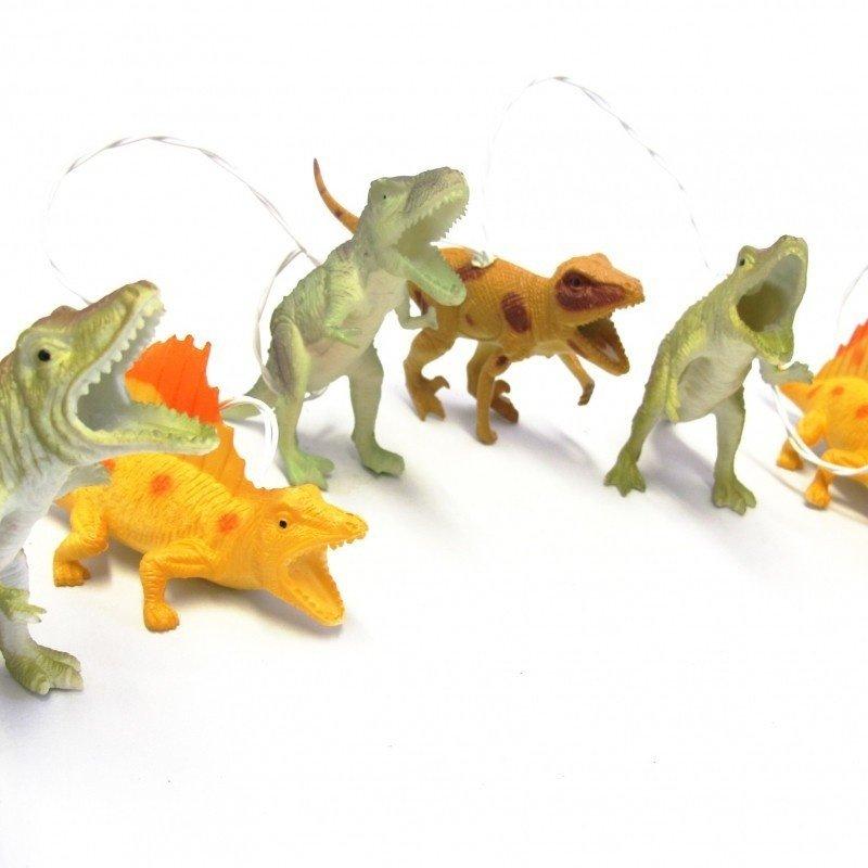 House of Disaster lampjes slinger met dinosaurussen