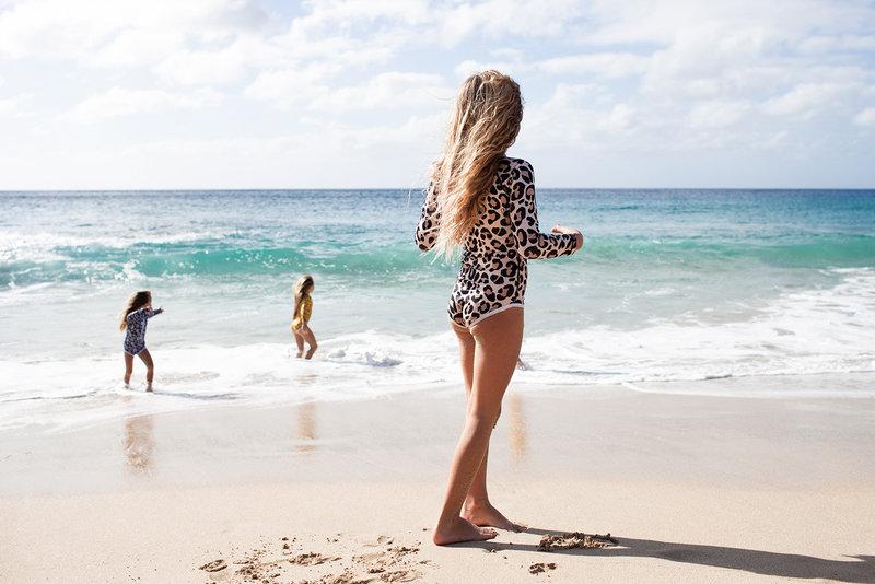 Beach & Bandits UV pakje Leopard Shark Ivory