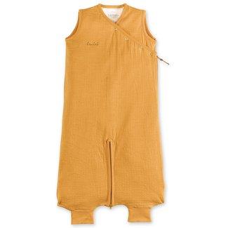 Bemini 3-9 mnd zomerslaapzak Tetra jersey oker