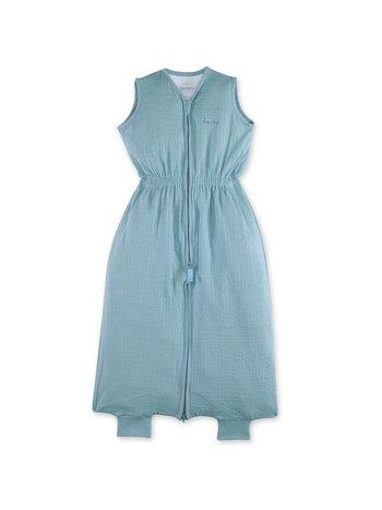 Bemini 9-24 mnd zomerslaapzak tetra jersey oud blauw