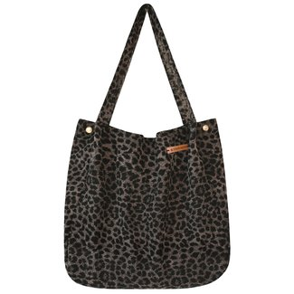 Your Wishes Mommy tote bag Dark leopard