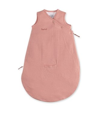 Bemini 0-3 mnd zomerslaapzak tetra jersey oud roze
