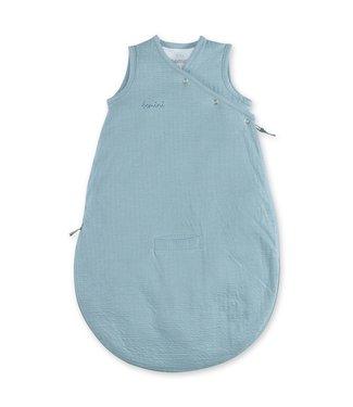 Bemini 0-3 mnd zomerslaapzak tetra jersey oud blauw