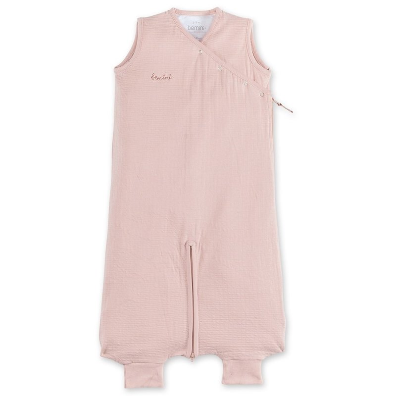 Bemini 3-9 mnd zomerslaapzak hydrofiel Tetra jersey roze
