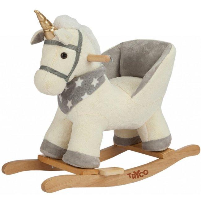 Tryco Baby Rocking chair Unicorn white