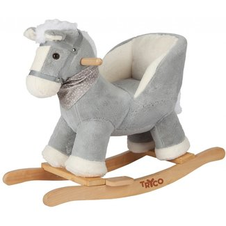 Tryco Baby Rocking chair Horse grey