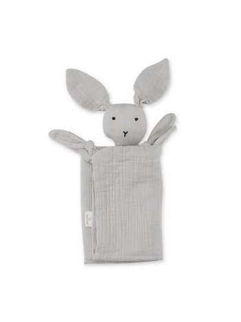 Bemini Knuffeldoekje bunny plum 70 x 70cm