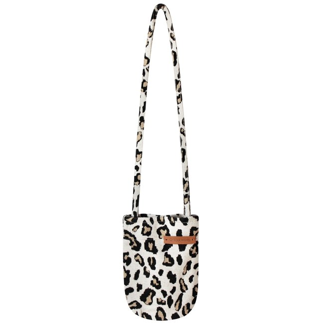 Your Wishes kids tote bag leopard jacquard