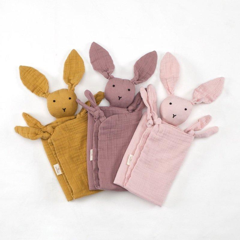 Bemini Knuffeldoekje bunny licht roze 70 x 70cm