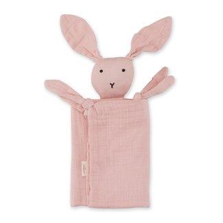 Bemini Knuffeldoekje bunny blush 70 x 70cm