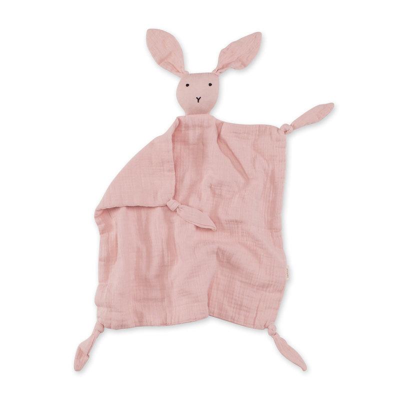 Bemini Knuffeldoekje Speendoekje Baby Konijn Lichtroze 40 x 40 cm