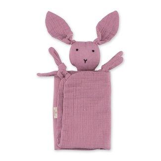 Bemini Knuffeldoekje bunny berry 70 x 70cm