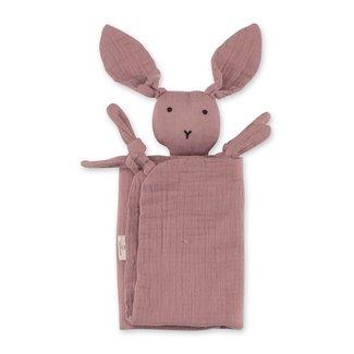 Bemini Knuffeldoekje bunny ginger 70 x 70cm