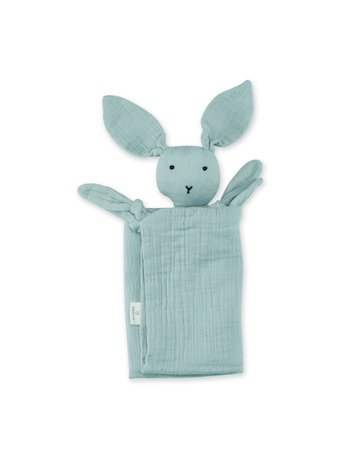 Bemini Knuffeldoekje bunny mint 70 x 70cm