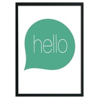 poster A3 Hello