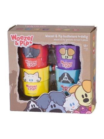 Woezel & Pip badbekers 4-delig