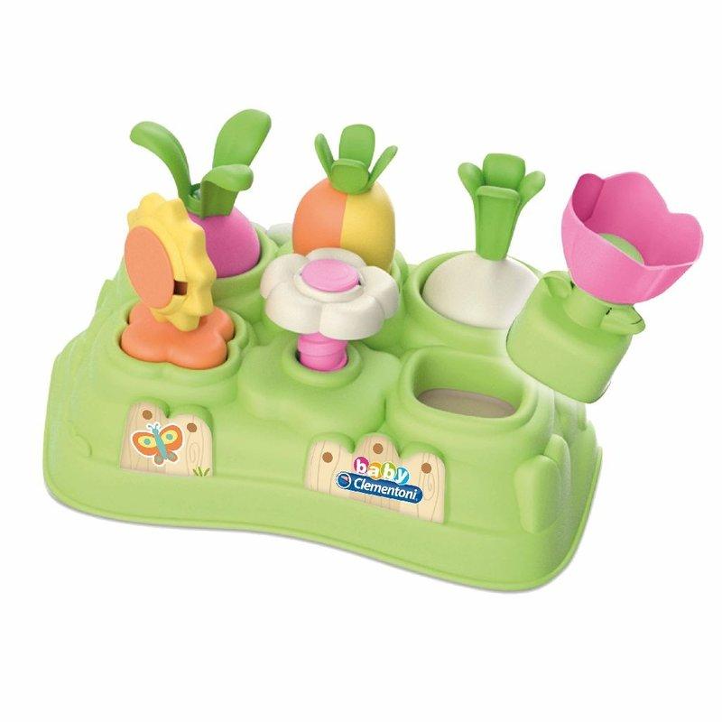 Clementoni Mijn Eerst Tuintje Puzzel - Duurzaam Kraamcadeau Meisje - Cadeau Eerste Verjaardag