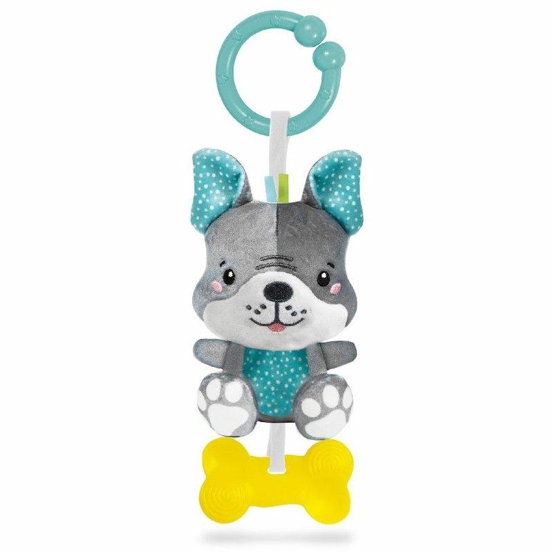Clementoni Baby Rammelaar Hond - Kraamcadeau Uni Jongen Meisje