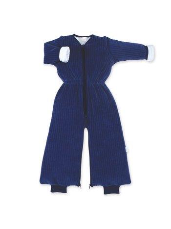Bemini 9-24 mnd winterslaapzak Velvet Marine blauw