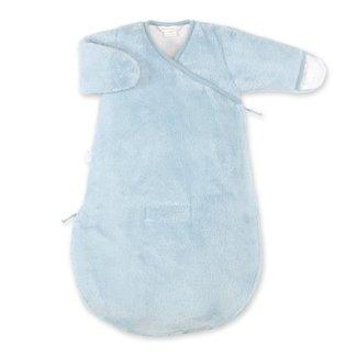 Bemini 0-3 mnd winterslaapzak Softy Jersey blauw/grijs