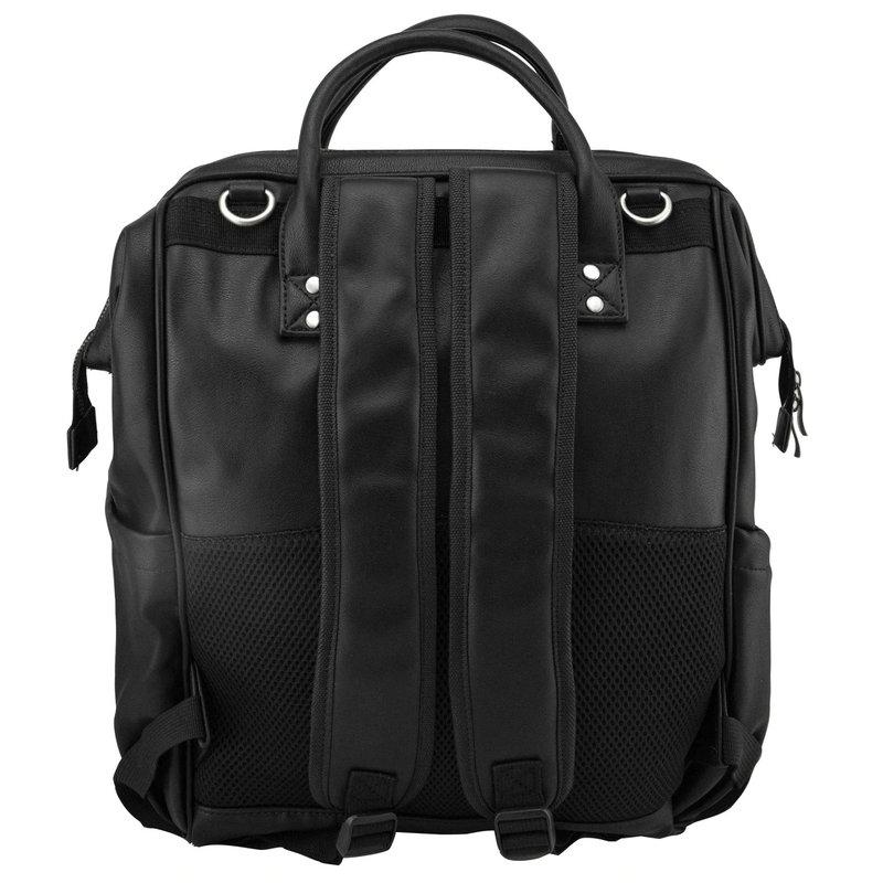 Isoki Luiertas Byron Backpack -  Onyx Zwart