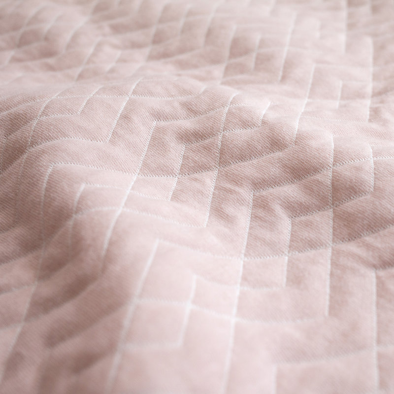 Bemini 3-9 mnd slaapzak blush Osaka Quilted tog 1.5 - 70 cm - 1.5 Tog