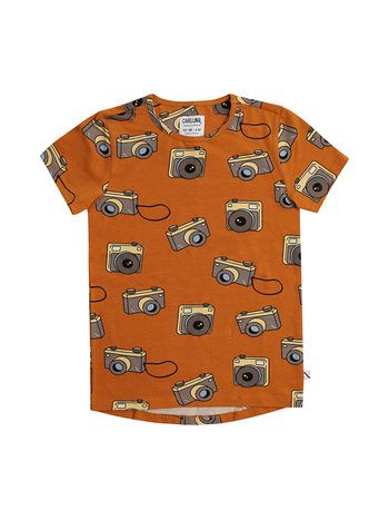 CarlijnQ Photo camera - short sleeve dropback