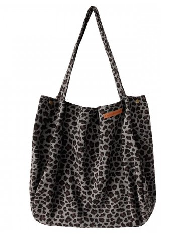 Your Wishes Mommy tote bag / luiertas small leopard jacquard