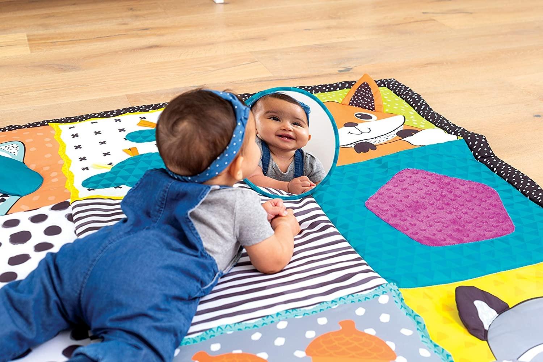 Infantino Infantino groot speelkleed baby / speeltapijt / speelmat - met  olifant - met opbergtas - ruim 2 m2 speelplezier - Ik Ben Zo Mooi