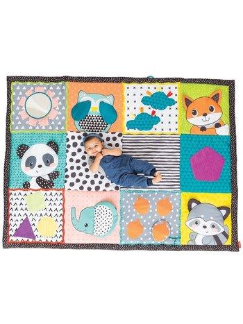 Infantino groot speelkleed baby / speeltapijt / speelmat - met olifant - met opbergtas