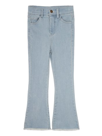 Ammehoela Kids flared broek Liv bleached denim