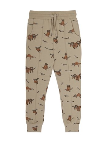 Ammehoela Kids jogg broek jaxon sloth sahara