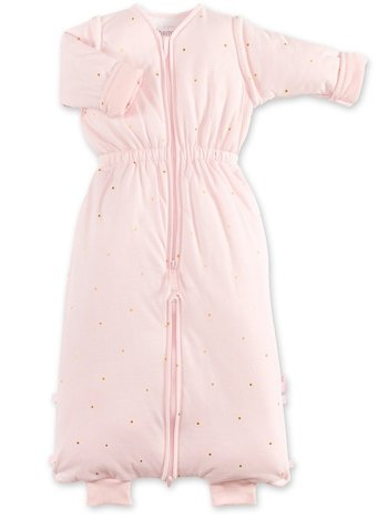Bemini 18-36 mnd winterslaapzak pady jersey roze
