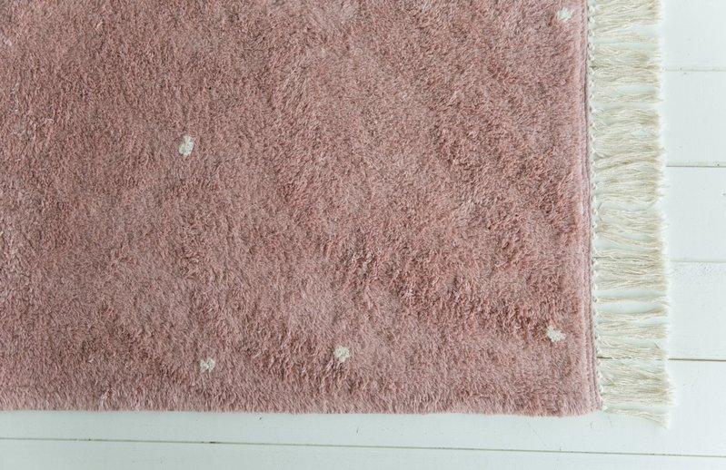 Little Dutch Vloerkleed roze 170x120cm