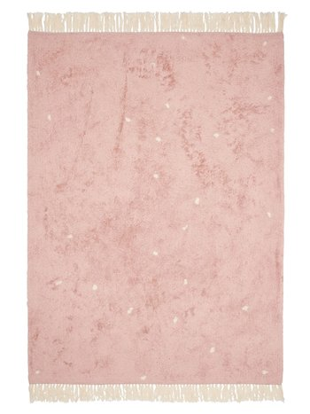Little Dutch Vloerkleed Dot Pure pink 170x120cm