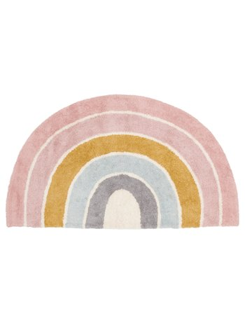 Little Dutch Vloerkleed Rainbow shape Pure Pink 80x130cm