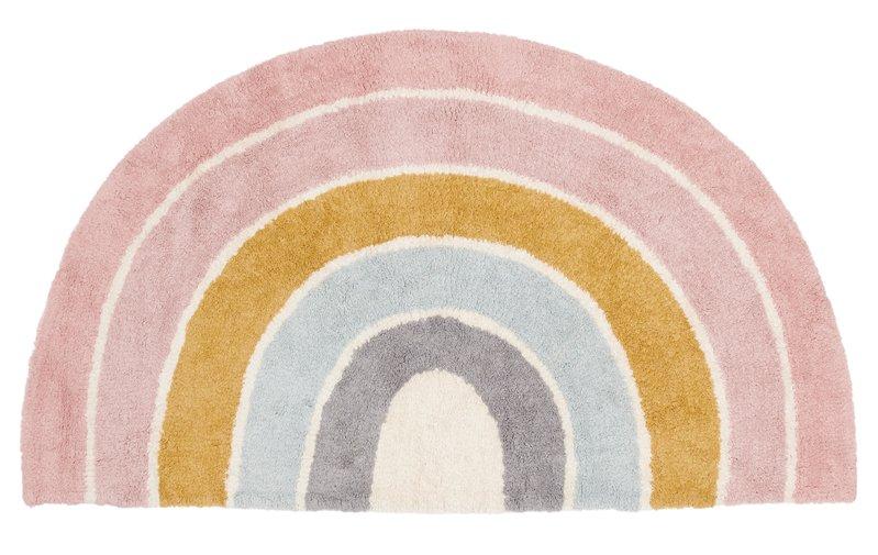 Little Dutch Vloerkleed Rainbow shape Pure Pink 80x130cm