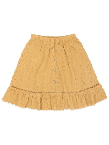 Ammehoela Kids Rok Romy mustard Yellow