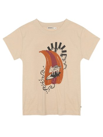 Ammehoela Kids Shirt Zoë pebble surf pig