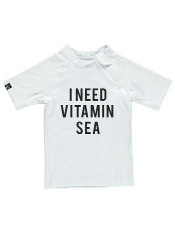 Beach & Bandits UV zwemshirt Vitamin Sea White