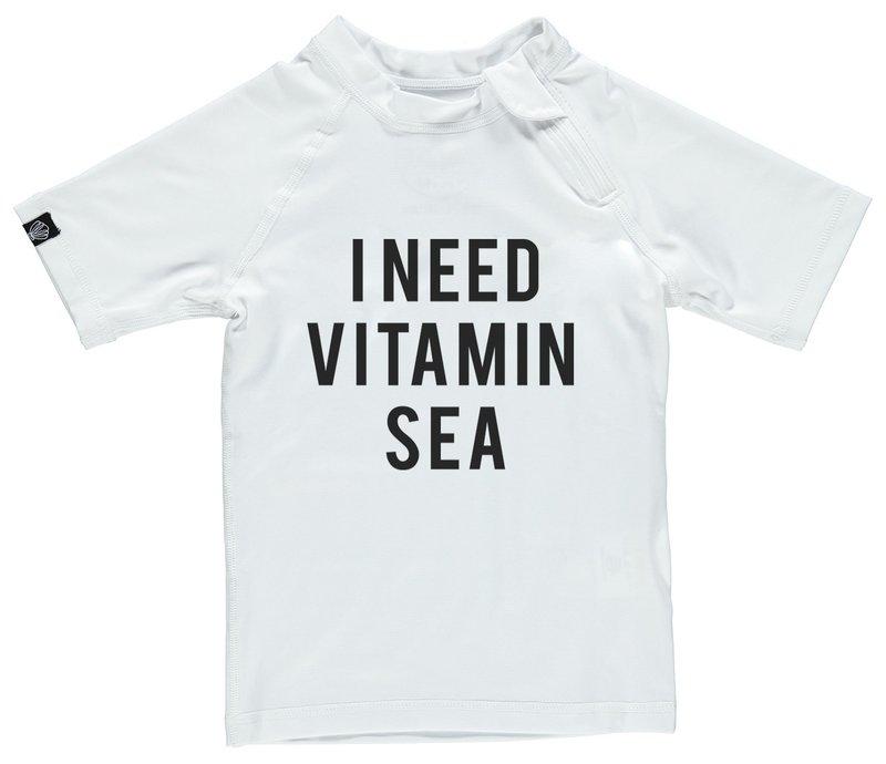 Beach & Bandits UV zwemshirt Vitamin Sea White