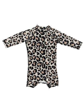 Beach & Bandits UV Baby Zwempakje Jongens Meisjes - Leopard Shark Ivory