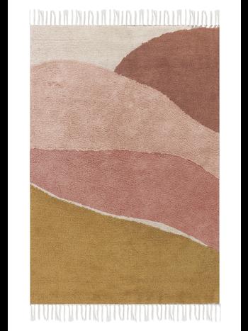 Little Dutch Vloerkleed Wandkleed Kinderkamer Babykamer Horizon Roze 90 x 130 cm