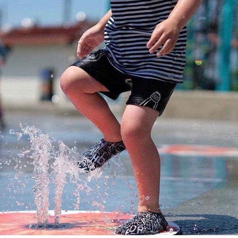 Slipstop Waterschoen Kinderen / Zwemschoen / Zwemslof / Antislip Schoen / Gymschoen - Jongen Meisje -Navy blauw