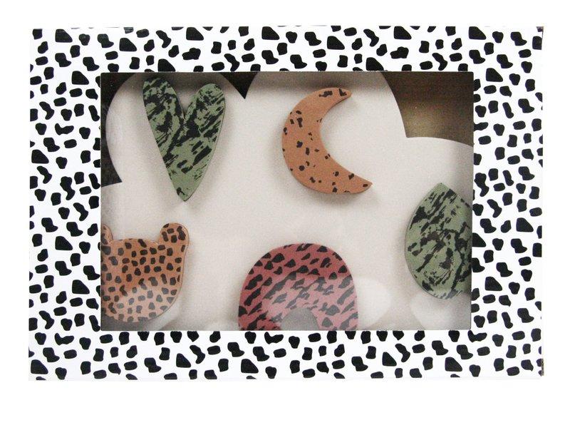 vanPauline Mijn Eerste Puzzel Uni Jongen Meisje - Vormen Puzzel / Inlegpuzzel / Steekpuzzel - Vanaf 18 maanden (1 / 2 jaar) - Groen