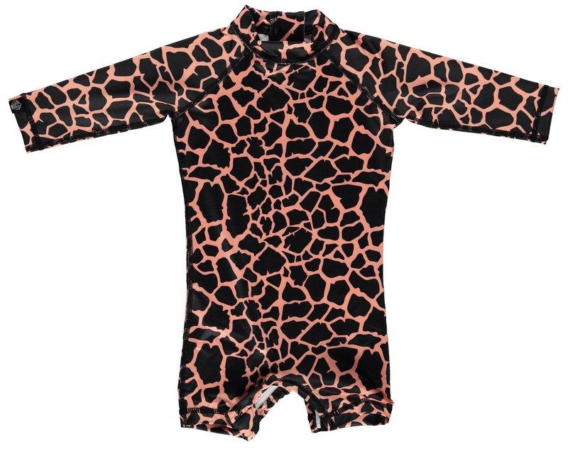 Beach & Bandits UV Baby Zwempakje met Lange Mouwen Jongens Meisjes - Spotted Moray Vissenprint