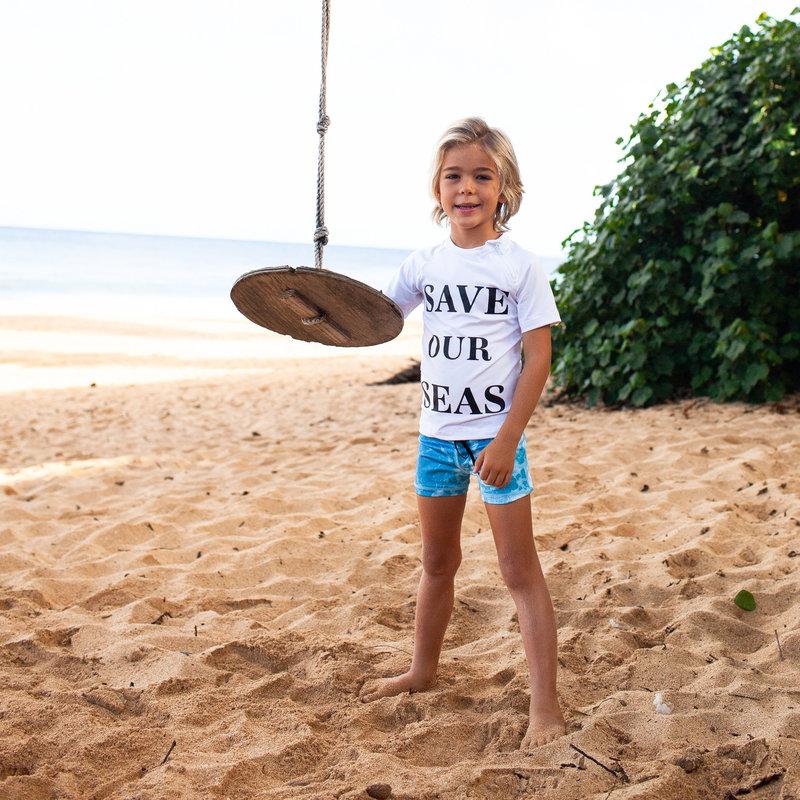 Beach and Bandits UV Strakke Zwembroek Kinderen Jongens - Save Our Seas Plastic Soup Foundation